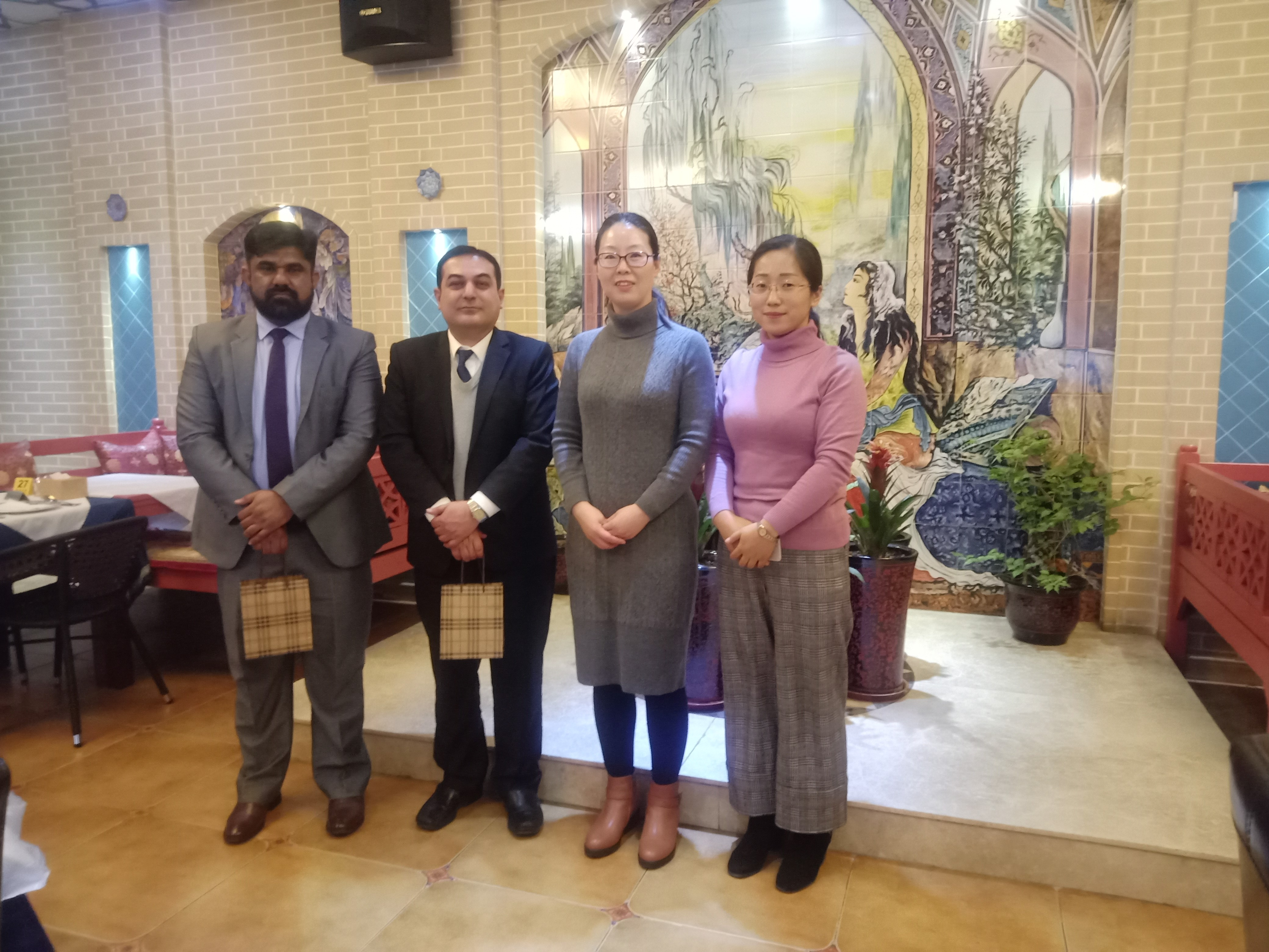 A Visit to the Embassy of Pakistan in China